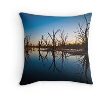 The Grave Yard Throw Pillow