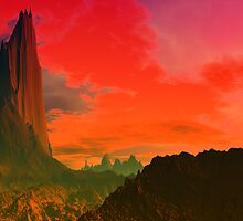 The Red Tower by AlienVisitor