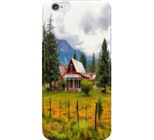 Life On The Mountain iPhone Case/Skin