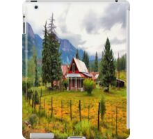 Life On The Mountain iPad Case/Skin