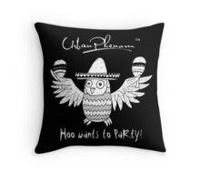 Urban Phenom™ - Hoo wants to Party!! Throw Pillow