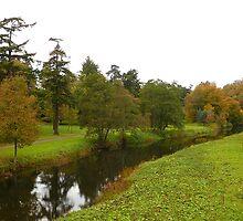 River Aln, near Alnwick castle. by Onions