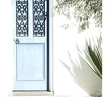 The Blue Door Photographic Print