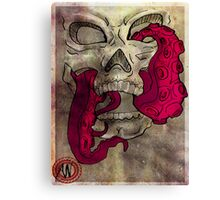 Skull Mouth Canvas Print