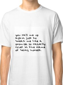 taylor swift - all too well Classic T-Shirt