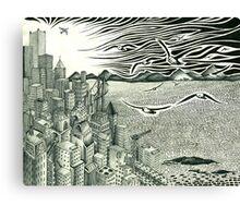 City Freedom Canvas Print