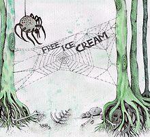 free ice cream by melaniedann