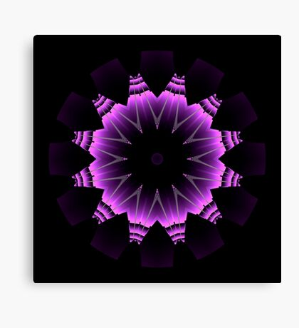 The Power of Purple I Canvas Print