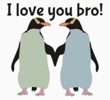 Gay Penguins | I Love you bro! Baby Tee