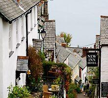 Clovelly Hill by Chris Edwards
