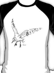 Seagull - Drawing Day 5th June 2010 T-Shirt
