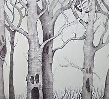 screaming tree  by melaniedann