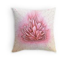 crystal healing  Throw Pillow