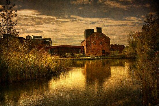 Morning Light at the Brickworks by Steve Silverman