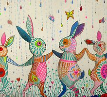 raving rabbits  by melaniedann