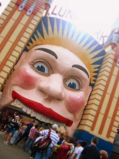 Luna Park by Tony O'Leary
