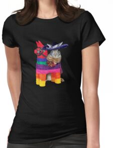 Mexican Bunny Rabbit Womens Fitted T-Shirt