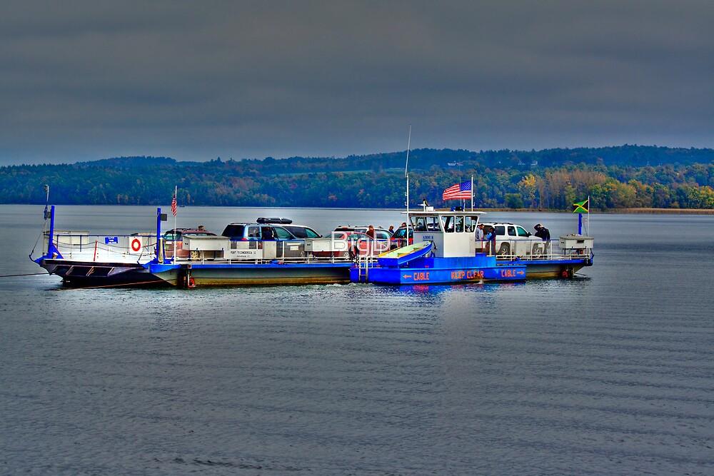 Ferry On Lake Champlain by BigD