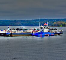 Ferry On Lake Champlain by BigD