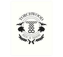 Torchwood - Agent in Training Art Print