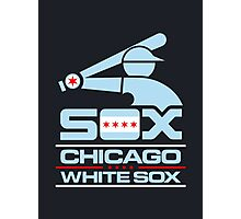 Chicago Inspired White Sox Photographic Print