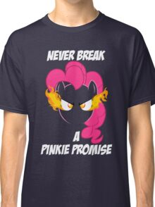 Never Break a Pinkie Promise (WHITE TEXT) Classic T-Shirt