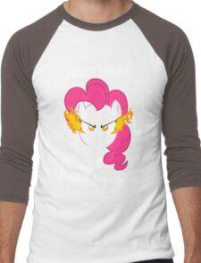 Never Break a Pinkie Promise (WHITE TEXT) Men's Baseball ¾ T-Shirt