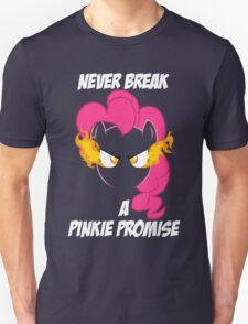 Never Break a Pinkie Promise (WHITE TEXT) Unisex T-Shirt