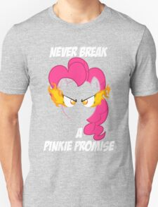 Never Break a Pinkie Promise (WHITE TEXT) T-Shirt