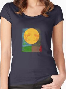 Kissed by the Sun or Cursed by the Sun Women's Fitted Scoop T-Shirt