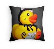 Halloween Duckie  Throw Pillow