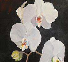 Orchid of the Night by Valerie  Curtiss