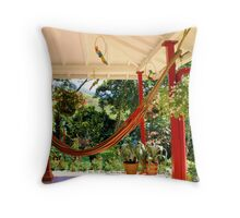 Hammock to relax Throw Pillow