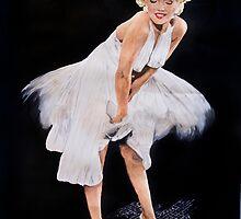 Marilyn Monroe by tigerlilyport