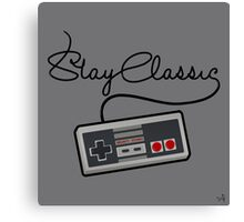 Stay Classic Canvas Print