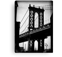 Gratuitous Manhattan Bridge & ESB shot Canvas Print