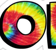 Tie Dye AOPI Sticker