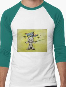 the force star kitty lightsaber  T-Shirt