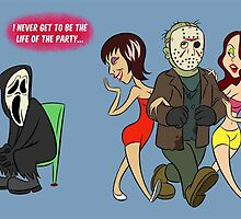 Let's All Scream Friday the 13th by Pedro Vargas
