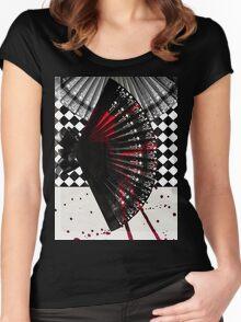 Hand Fan Women's Fitted Scoop T-Shirt