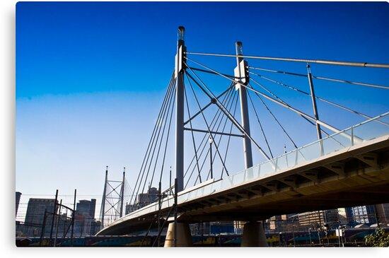 Nelson Mandela Bridge — Suspension Bridge & Walkway by RatManDude