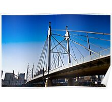 Nelson Mandela Bridge — Suspension Bridge & Walkway Poster