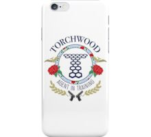 Torchwood - Agent in Training (Colour Version) iPhone Case/Skin