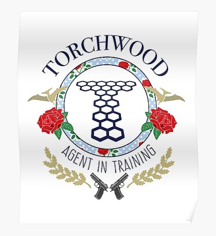 Torchwood - Agent in Training (Colour Version) Poster