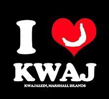I (HEART) KWAJ (Dark) by aeng104