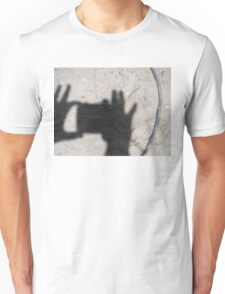 Photographer Shadow Unisex T-Shirt