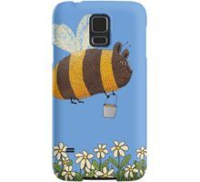 Bumble Bear with honey flies home Samsung Galaxy Case/Skin