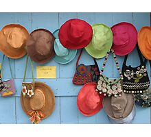 Hats for Sale Photographic Print