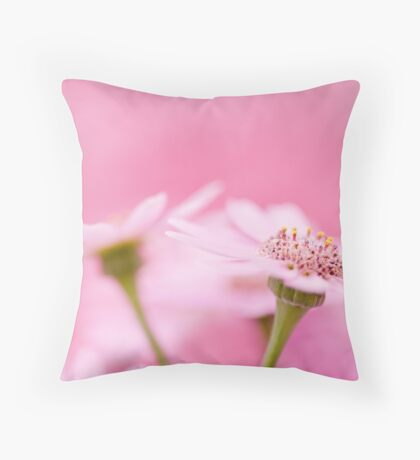 Drinking nature is an unquenchable thirst... Throw Pillow