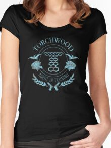 Torchwood - Agent in Training (2) Women's Fitted Scoop T-Shirt